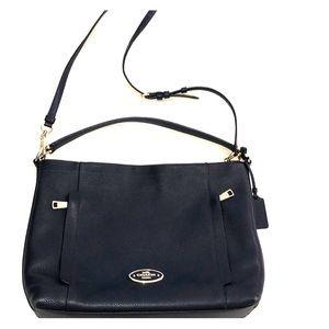 Authentic Leather Coach Purse / Bag